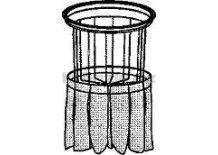 Soteco kompletní polyesterový filtr, Planet 1000 s bočním oklepem