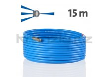 Kränzle kanalizační hadice na čištění potrubí 15m s tryskou KNF055 (3+1), D12
