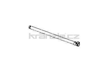 Soteco hliníková trubice, 100 cm, pr. 50 mm
