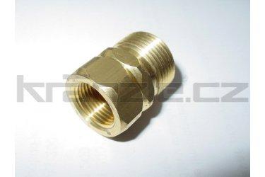 Kränzle šroubení 3/8 x M22 pro připojení k vysokotlaké hadici