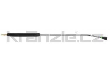 Kränzle nástavec s plochou tryskou D25045, s plastovým madlem, bez regulace, 1000 mm (D12)