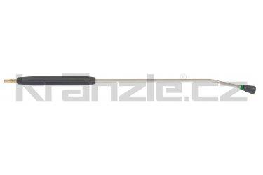 Kränzle nástavec s plochou tryskou D25045, plastovým madlem a rychlospojkovým trnem DN12, 1000 mm