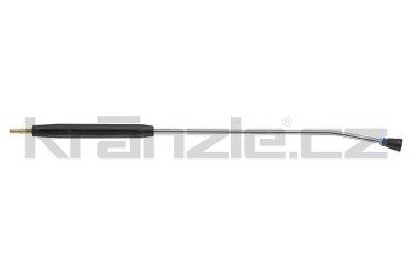Kränzle nástavec s plochou tryskou D2507, s plastovým madlem, bez regulace, 1000 mm (D12)