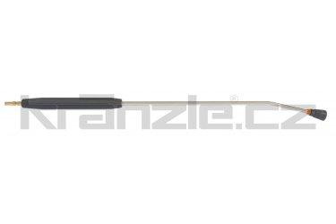 Kränzle nástavec s plochou tryskou D4011, plastovým madlem a rychlospojkovým trnem DN12, 1000 mm