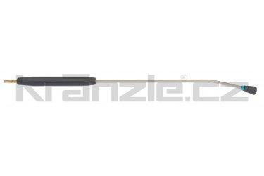 Kränzle nástavec s plochou tryskou D4005, plastovým madlem a rychlospojkovým trnem DN12, 1000 mm