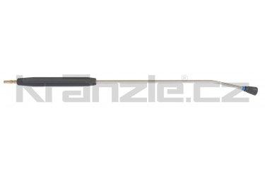 Kränzle nástavec s plochou tryskou D40085, plastovým madlem a rychlospojkovým trnem DN12, 1000 mm