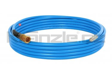 Kränzle kanalizační hadice na čištění potrubí 15m s tryskou KN055 (3+0), M22x1,5