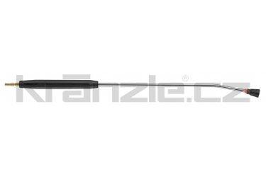 Kränzle nástavec s plochou tryskou D4008, s plastovým madlem, bez regulace, 1000 mm (D12)