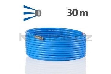 Kränzle kanalizační hadice na čištění potrubí 30m s tryskou KN055 (3+0), D12