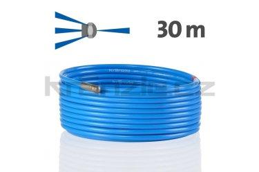 Kränzle kanalizační hadice na čištění potrubí 30m s tryskou KNF055 (3+1), D12