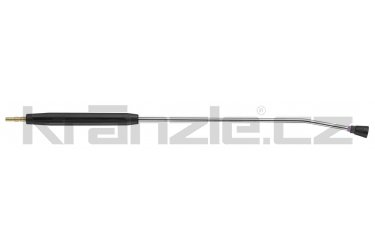 Kränzle nástavec s plochou tryskou D2506, s plastovým madlem, bez regulace, 1000 mm (D12)