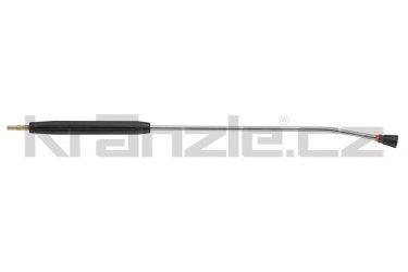 Kränzle nástavec s plochou tryskou D2508, s plastovým madlem, bez regulace, 1000 mm (D12)
