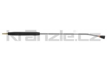 Kränzle nástavec s plochou tryskou D25011, s plastovým madlem, bez regulace, 1000 mm (D12)