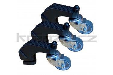 Kränzle sada postranních koleček pro rotační čistič ploch UFO pr. 300 mm