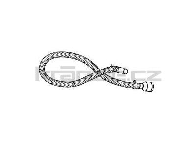 Soteco sací horkuodolná hadice, antistatická, 3 m, pr. 40 mm, vstup 70 mm - kompletní