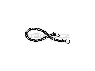 Soteco antistatická hadice do potravinářství, NR, 3 m, pr. 40 mm, vstup 70 mm