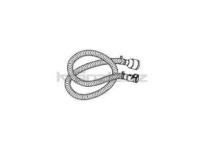 Soteco sací hadice NR/SBR, antistatická, antiabrazivní, 3 m, pr. 50 mm, vstup 60 mm