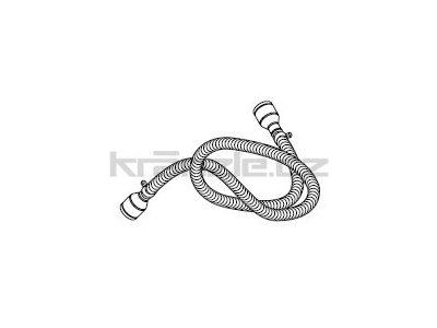 Soteco sací horkuodolná propojovací hadice, antistatická, 3 m, pr. 50 mm, vstup 70 mm, pro separátor