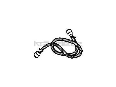 Soteco antistatická propojovací hadice olejiodolná, NBR, 3 m, pr. 50 mm, vstup 70 mm