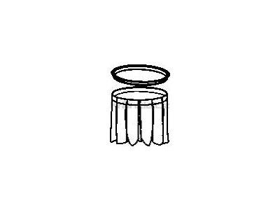 Soteco kompletní filtr polyester, pr. 460 mm, typ T452
