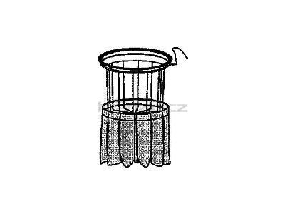 Soteco kompletní filtr, antistatický, pro vysavače s postranním klepačem