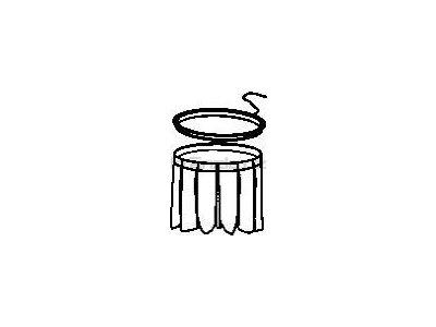 Soteco návlek TW 452 SA k antistatickému filtru, pro vysavače s postranním klepačem