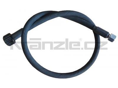 Kränzle vysokotlaká propojovací hadice 1m, DN8, 400 bar, 155°C, M22x1,5 x M14x1,5