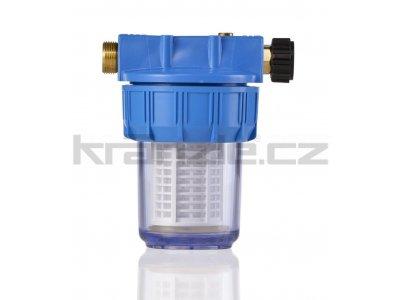 Kränzle předřadný filtr pro vstupní vodu (velký modrý)