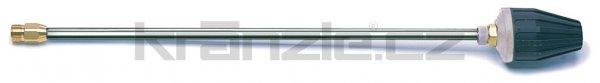 Kränzle nástavec s rotační keramickou bodovou TURBO tryskou 04, 600 mm
