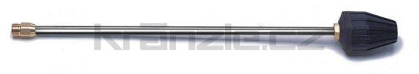 Kränzle nástavec s rotační keramickou bodovou TURBO tryskou 055, 600 mm