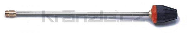Kränzle nástavec s rotační keramickou bodovou TURBO tryskou 08, 600 mm
