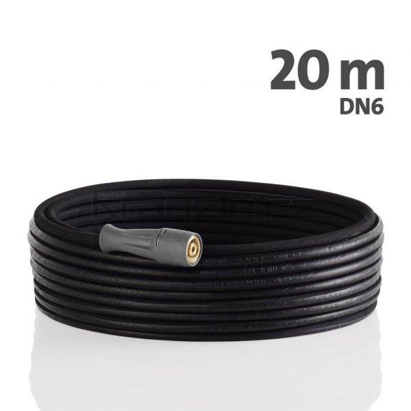 Kränzle vysokotlaká prodlužovací hadice 20m, DN6, 210 bar, 155°C, M22x1,5 x M22x1,5