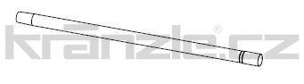 Soteco trubice nerez, 85 cm, pr. 40 mm