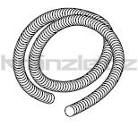 Soteco sací horkuodolná hadice, antistatická, pr. 50 mm - metráž