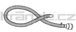 Soteco sací propojovací hadice EVAFLEX, 3 m, pr. 50 mm, vstup 70 mm