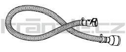 Soteco sací hadice EVAFLEX, 3 m, pr. 50 mm, vstup 60 mm