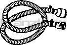 Soteco antistatická hadice do potravinářství, NR, 3 m, pr. 50 mm, vstup 60 mm