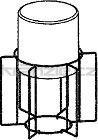 Soteco plovák kompletní pro stroje PLANET s 60-litrovou nádrží