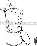Soteco papírová nádrž pro nebezpečné a toxické nečistoty - pro PLANET
