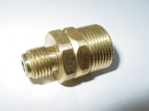 Šroubení 1/4 x M22 pro připojení k pěnovači - hluboké