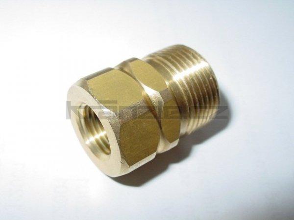 Šroubení 1/4 x M22 pro připojení k vysokotlaké hadici