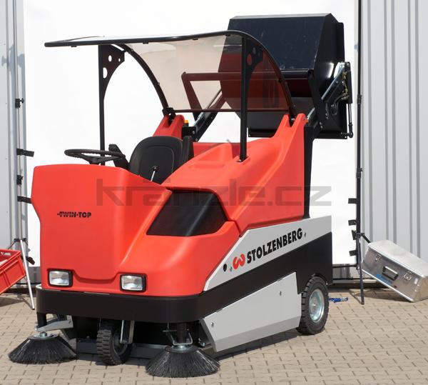Zametací stroj Stolzenberg TwinTop TTP 1500 komplet