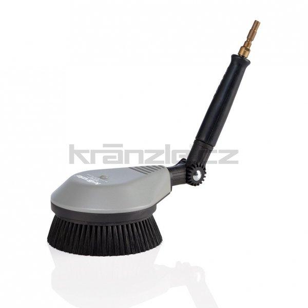 Kränzle rotační mycí kartáč s nerezovým prodloužením (rychloupínací trn DN10 pro K 1050 a X - A15, A17)