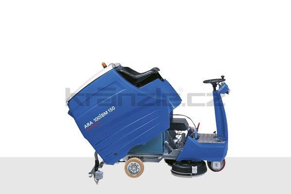 Podlahový mycí stroj pro sedící obsluhu Columbus ARA 100 BM 150 s příslušenstvím