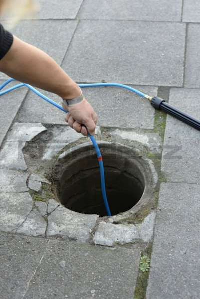 Kränzle kanalizační hadice na čištění potrubí 25m s tryskou KNF055 (3+1)