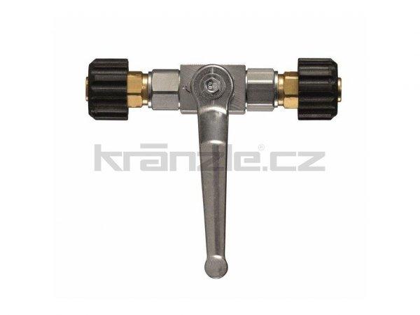 Kränzle šroubení M22 x M22 s uzavíracím kohoutem