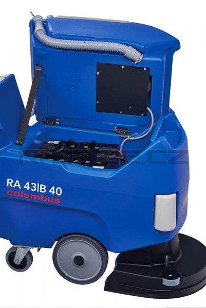 Podlahový mycí stroj Columbus RA 43 B 40 Quick-Stopp s příslušenstvím