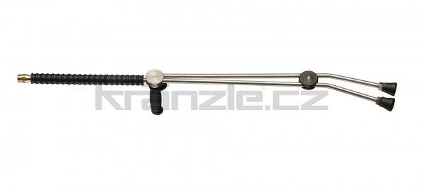 Kränzle dvojitá tryska dlouhá 1000 mm s otočnou rukojetí ISO (M22x1,5)