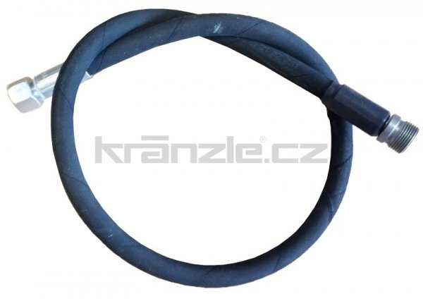 Kränzle vysokotlaká propojovací hadice 1m, DN8, 400 bar, 155°C, M14x1,5 x M22x1,5