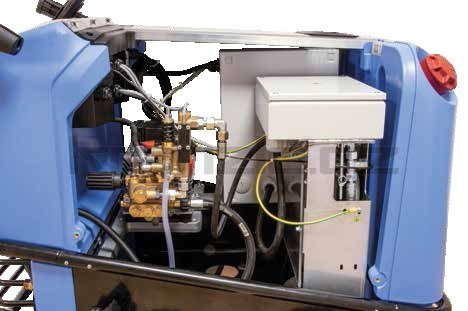 Vysokotlaký čistič Kränzle therm 500 E-M 18 +